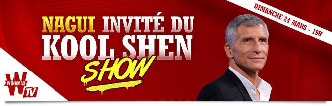 Kool Shen Show avec Nagui