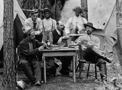 Poker 19e siècle