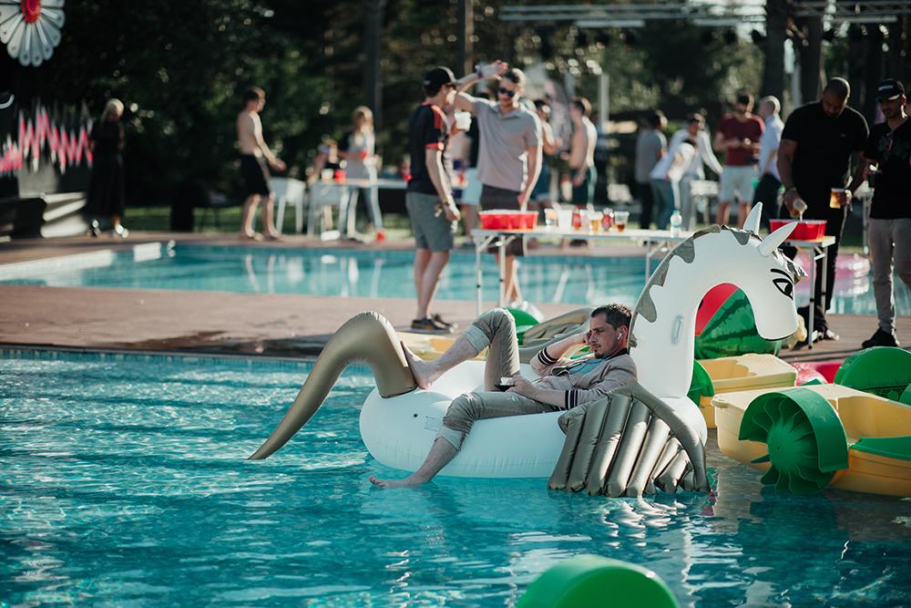 Pool party SISMIX