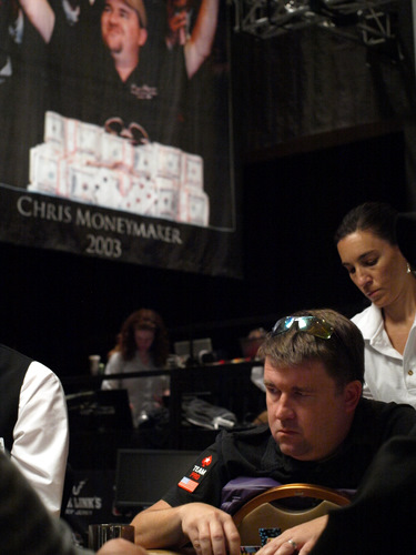 Chris Moneymaker Portait