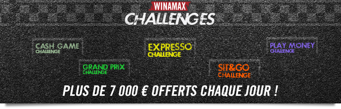 Challenges Poker