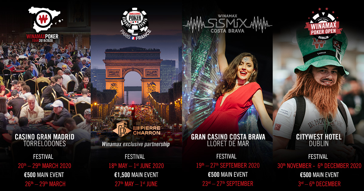 Events Happening In June 2020.Winamax Live The 2020 Calendar Is Here News