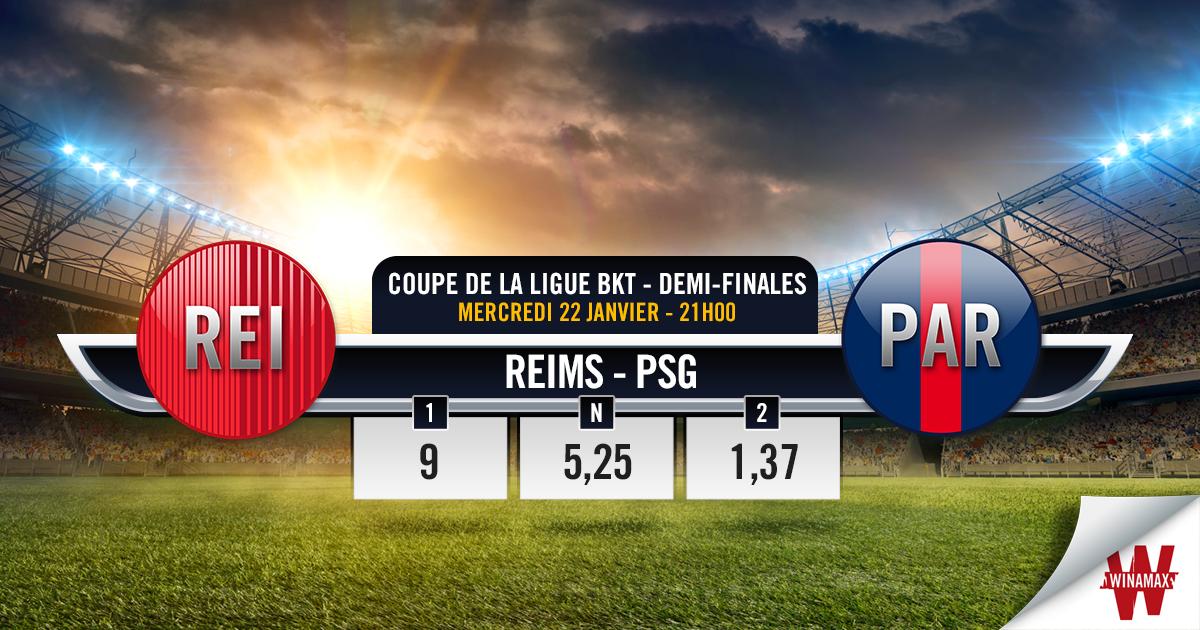 Reims - PSG : l'avant-match en chiffres - Actualité - Winamax