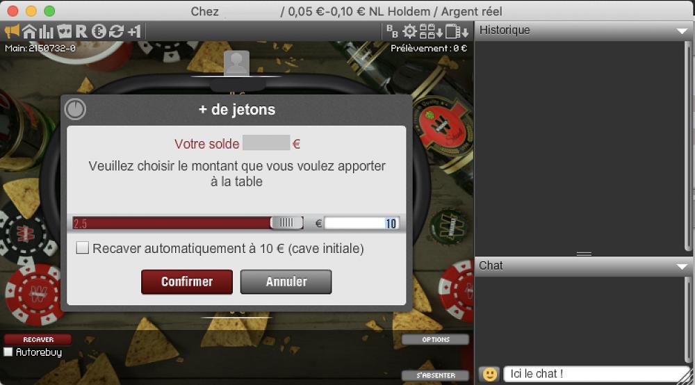 Tuto Cash Game 05