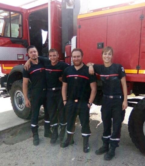 Michaël Abiteboul - Pompiers