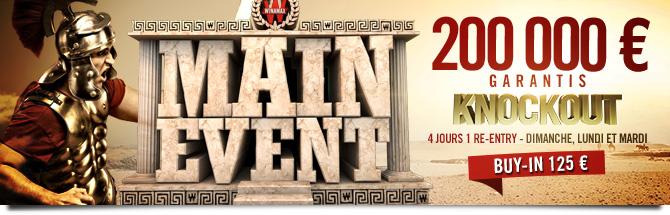 Main Event 200K 6-max KO Bandeau