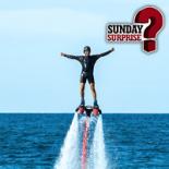 Sunday Surprise Flyboard Vignette
