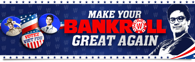 Make your Bankroll Great Again Bandeau
