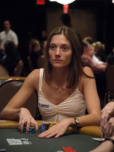 Gaëlle Baumann 2010 WSOP
