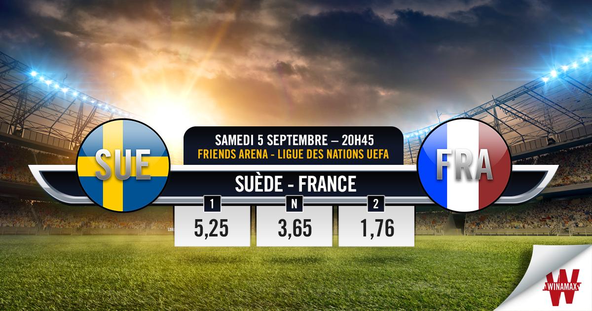 Match France - Suède (Ligue des Nations) chaine et heure de diffusion à la télé.