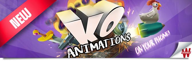Animations KO Bandeau