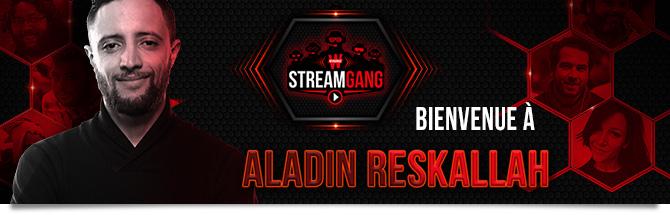 Winamax Stream Gang Aladin Reskallah