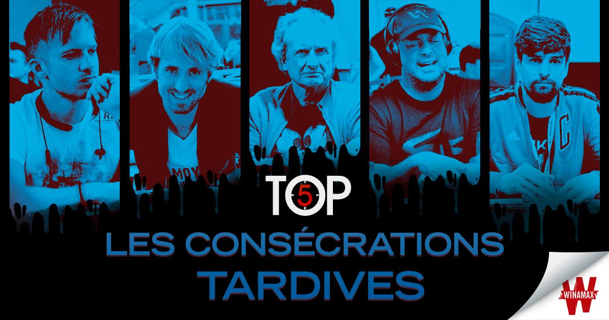 Top 5 consécrations