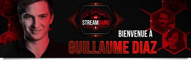 Winamax Stream Gang Guillaume Diaz