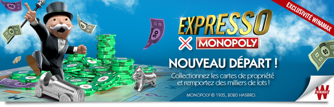 Expresso x MONOPOLY