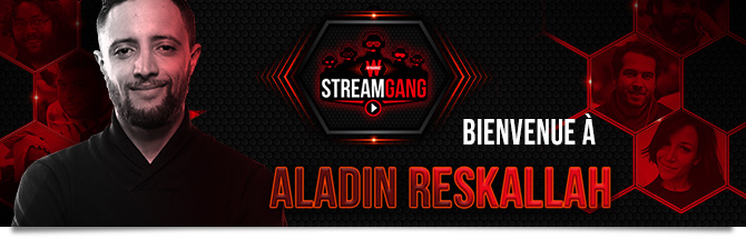 Stream Gang Aladin Reskallah