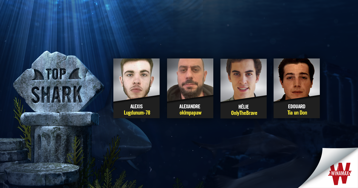 Candidats Top Shark Semaine 3