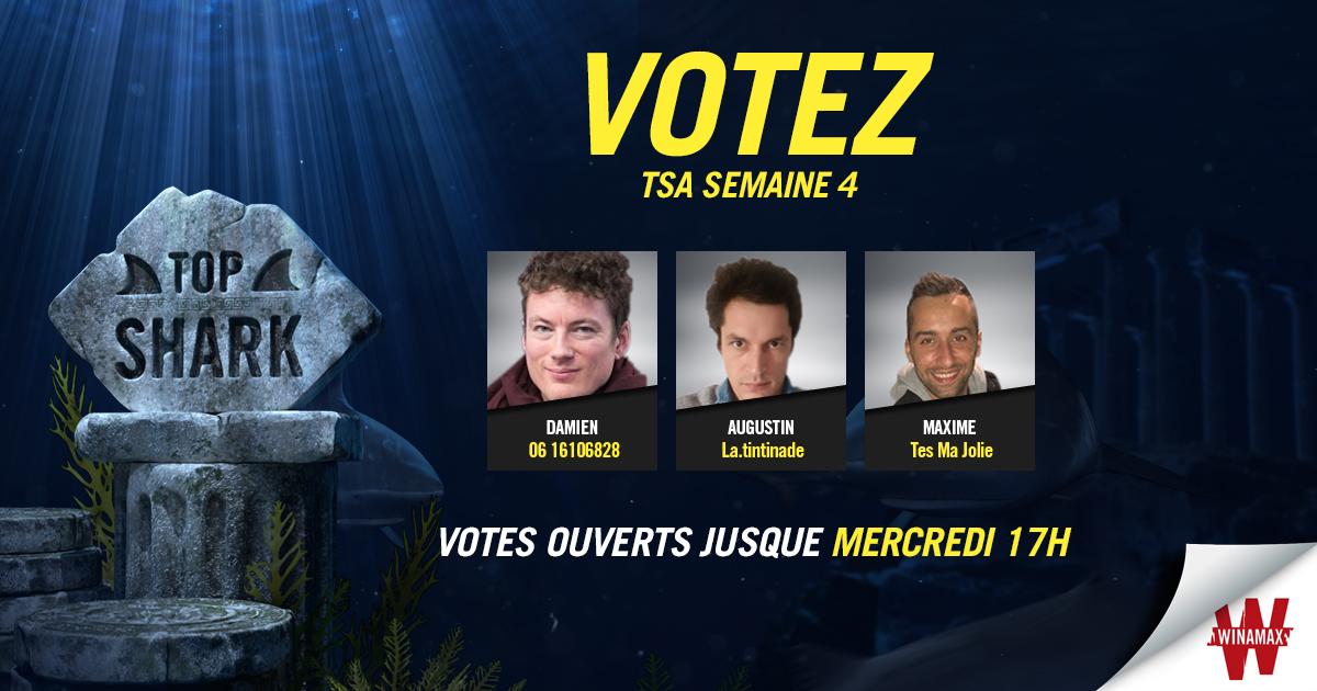 Top Shark Academy Vote