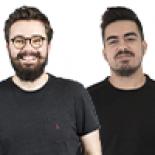Adrien Delmas et Léo Lombardozzi