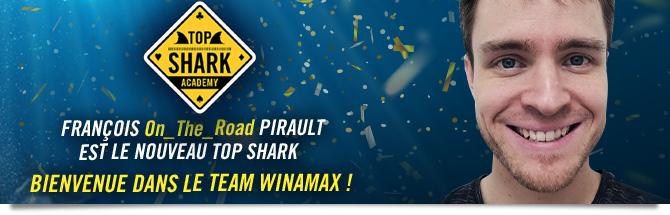 François Pirault Top Shark Vainqueur