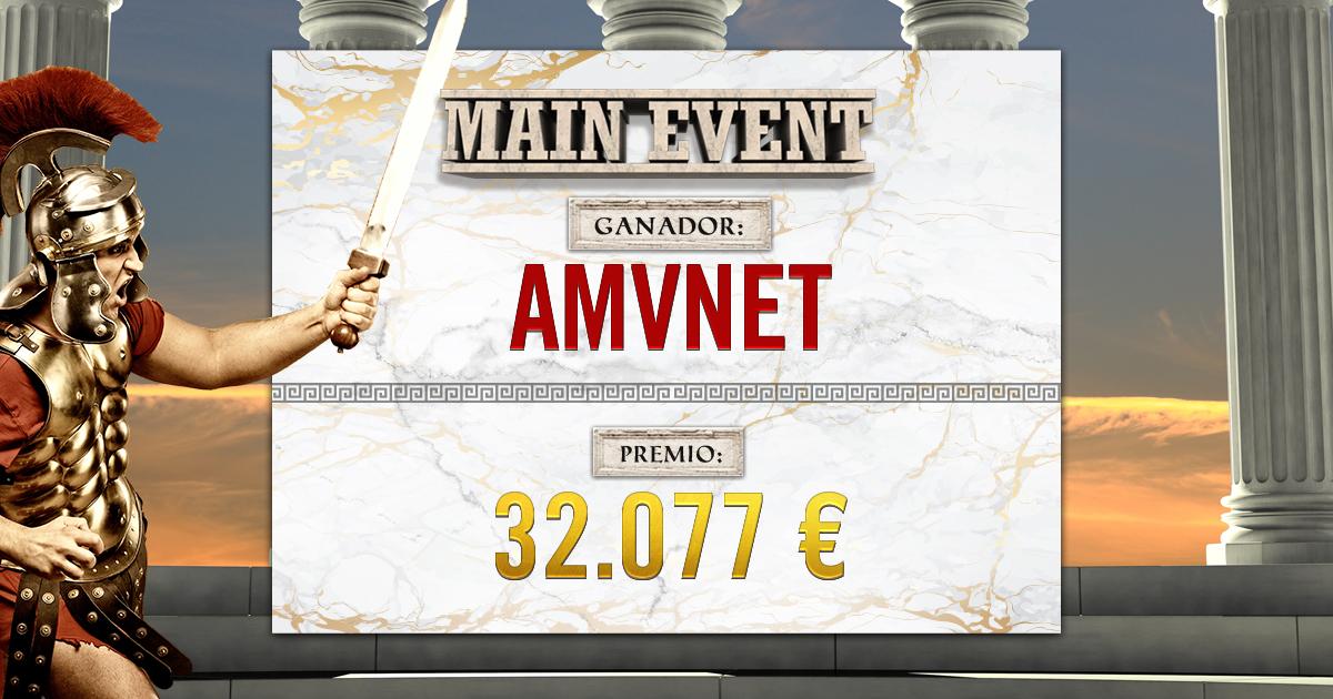 Ganador Main Event