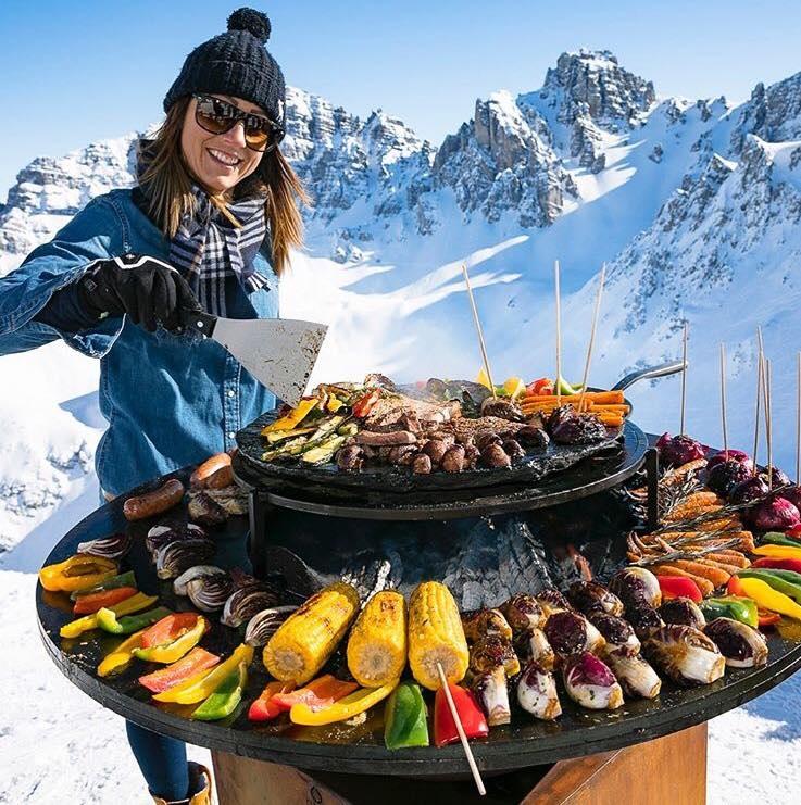 Barbecue hiver