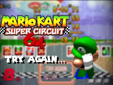 Try Again Mario Kart
