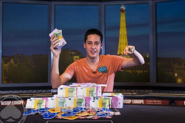 Adrián Mateos WSOP-Europe