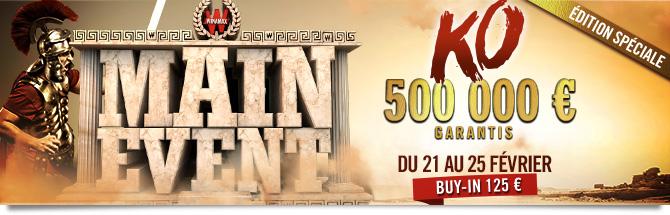 Main Event 500k