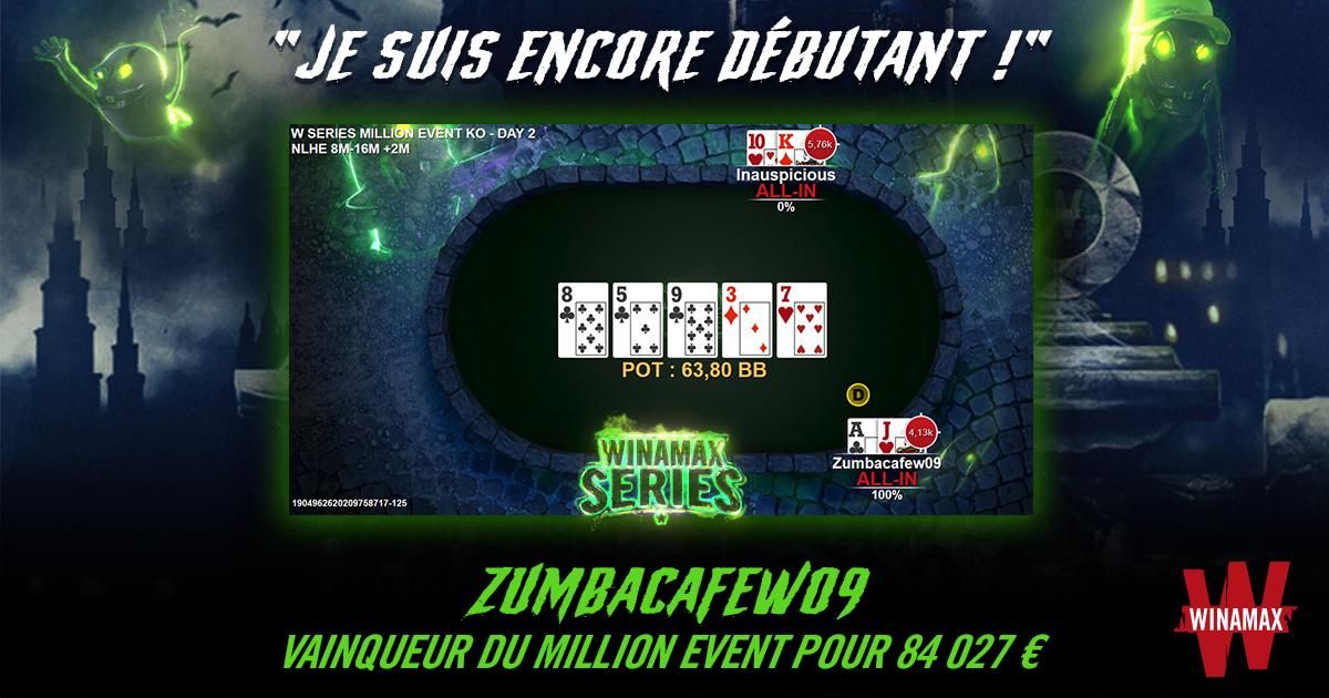 Zumbacafew09 Vainqueur Million Event