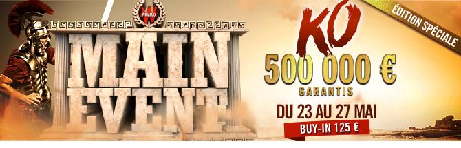 Main Event 500K Bandeau