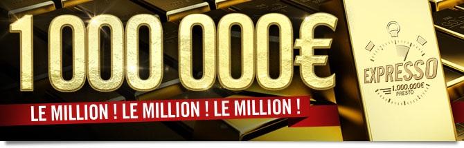 Expresso 1 Million Bandeau