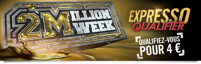 Expresso Qualifiers 2 Million Week