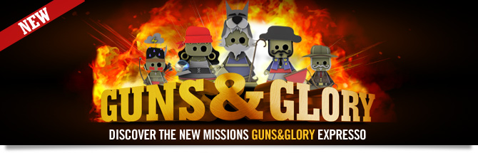 Guns&Glory is a new type of challenge on Winamax!