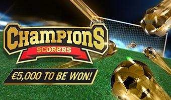 Champions Scorers