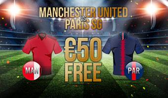 Manchester United vs Paris Saint Germain
