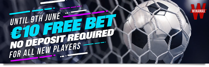 10 Free Bet With No Deposit For All New Players Winamax