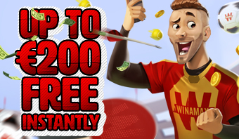 Double your first deposit up to €200