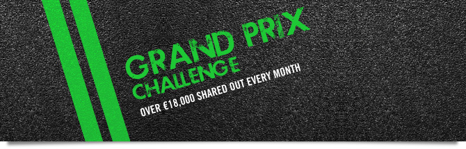 The Winamax Grand Prix Challenge :  euros 18,000 to win each month
