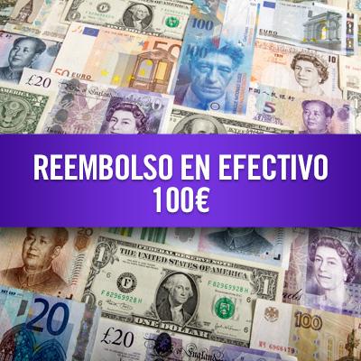 Reembolso en efectivo 100 €
