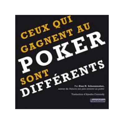 Ceux qui gagnent au poker sont différents