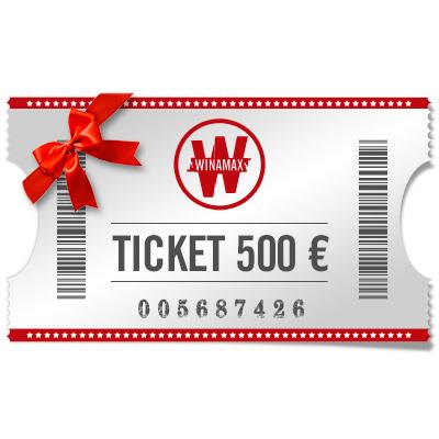 Ticket de 500 € à offrir