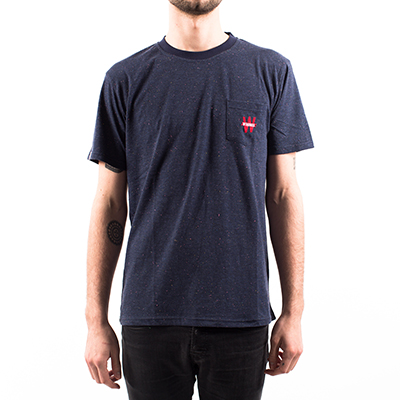 Tee shirt poche Winamax - bleu marine moucheté