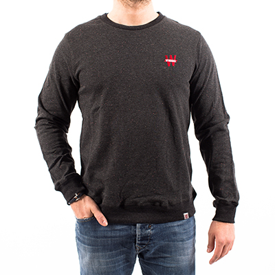 Sweat moucheté Winamax - gris anthracite