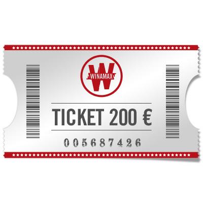 Ticket 200 €