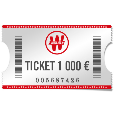 Ticket 1 000 €