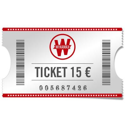 Ticket 15 €