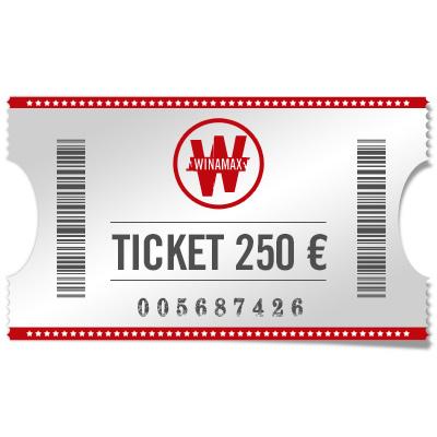 Ticket 250 €