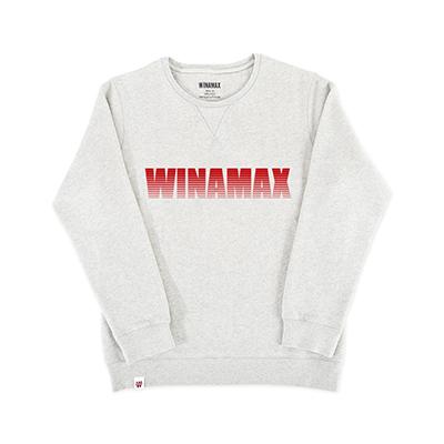 "SweatShirt Femme Gris logo ""Miramax"" Rouge"