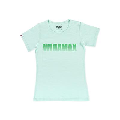 """T-Shirt Femme vert logo """"Miramax"""" vert"""